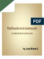 SESIÓN 2B La Industria de La Construcción