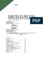 WOLFE GENE - Especies en Peligro