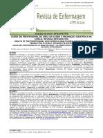 Saúde Do Profissional Da Área Da Saúde e Produção Científica Na Scielo-revisão Integrativa