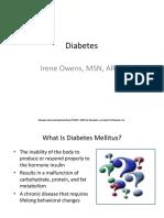 Diabetes Fall 2010