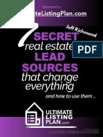 7 Secret Real Estate Lead Sources That Change Everything [UltimateListingPlan] PDF