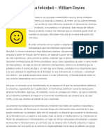 La Industria de La Felicidad - William Davies