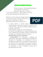 Direito Falimentar - João Glicério