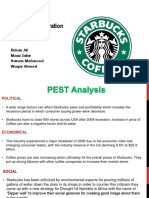 Starbucks Corporation 2011 Case Study