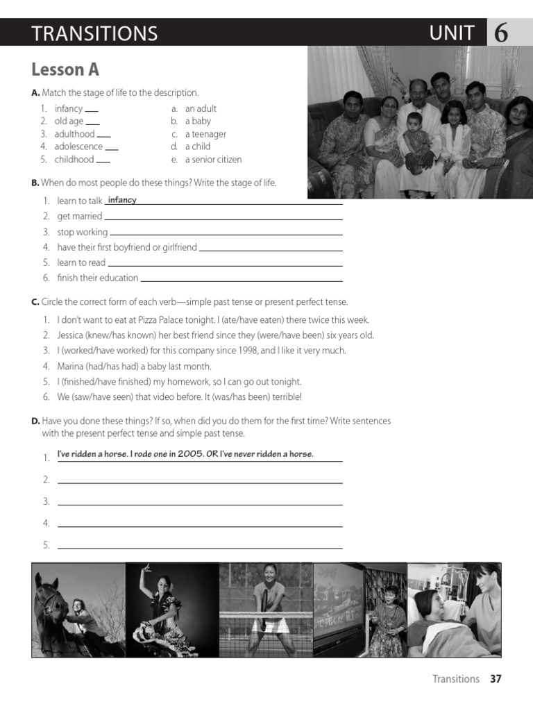 World English 2 - Workbook Unit 6