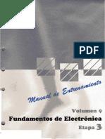 9.- Fundamentos de Electronica