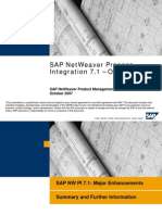 SAP PI7.1 Overview