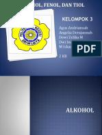 Kel.3 Alkohol Fenol Tiol
