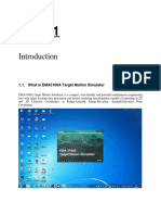 EMA3100A Target Motion Simulator User Guide - Chap1