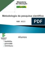Metodologia Da Pesquisa PCB