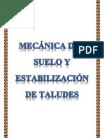 Mecánica Del Suelo y Estabilización de Taludes Trabajo Listo