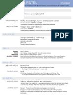 aakanksha resume