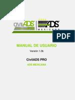 CivilADS PRO Manual de Usuario