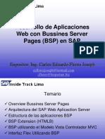 Desarrollo de Apps Web Con Bsp en Sap