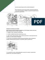 Conferindo pressão hidráulica JCB426