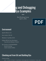 Running Through Rya Examples