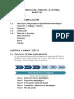 Planeamiento Estratégico de La Empresa Agrovirú