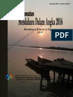 Kecamatan Mendahara Dalam Angka 2016