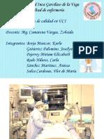 Indicadores de calidad enUnidad de cuidados intensivos