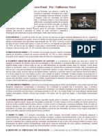 15 Dicas de Penal e Processo Penal - Por_ Guilherme Nucci
