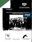La investigación en la Carrera de Historia de la UMSA