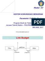 7. Materi 7 - Parameter Cell Site Design