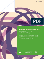 Risk assessment and hazard mapping