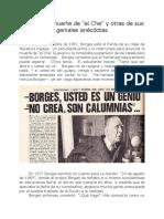 Geniales anécdotas de Borges