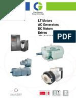 3 Phase Motor CG Catalogue