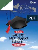 Baca Ini Kamu Pasti Kuliah Di Indonesia Pakai Beasiswa
