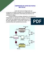 Ciclo de Compresión de Vapor en Etapas Múltiples