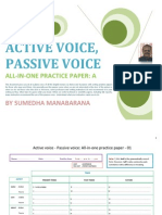 English Grammar - Active Voice Passive Voice - All in one