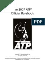 Atp Rule Book