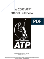 ATP Rulebook 2007