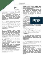 Questões Direito Adm. CESPE 1 (6 Págs)