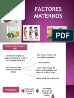 Factores de riesgo prematuridad
