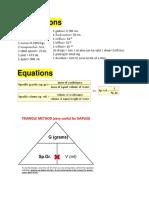 DDS Equations