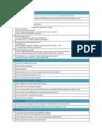 Check List Planejamento Curso