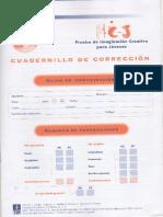 Cuaderno de Corrección Pic j