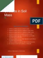 Stresses in Soil Mass