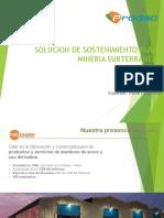 Presentación_Sostenimiento en Minería Subterranea.