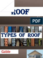 Types of Roof for TLE