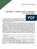 Jaramillo, Jaime - Polemica. Produccion Campesina y Capitalismo