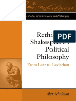 Rethinking Shakespeare's Political Philosophy