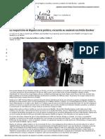 La Reaparición de Higuita en La Política, Recuerda Su Amistad Con Pablo Escobar - Las2orillas
