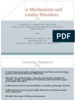 Defense Mechanisms and Personality Disorders