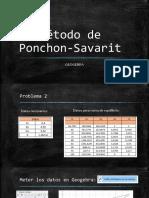 Problema 2. Ponchon Savarit