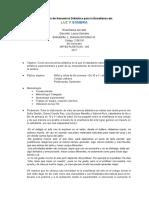 SECUENCIA DIDACTICA - DANIELA GONZÁLEZ