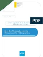 Estudio General Demarcación del Tajo. Documentos Iniciales de Planificación