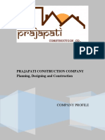 Prajapati Construction Company Profile